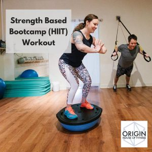 origin house of fitness strength based bootcamp image