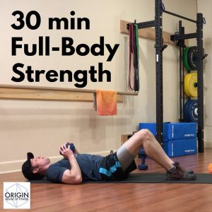 origin house of fitness online class 30 min full-body workout