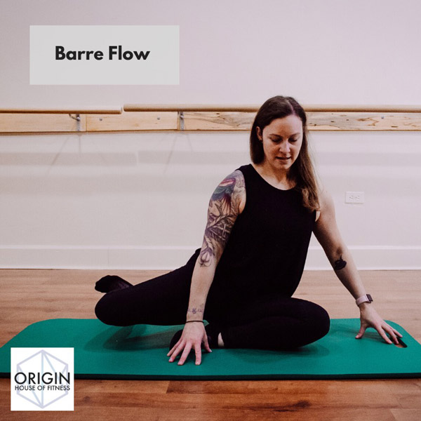 Barre Flow Fitness video thumbnail Origin House of Fitness