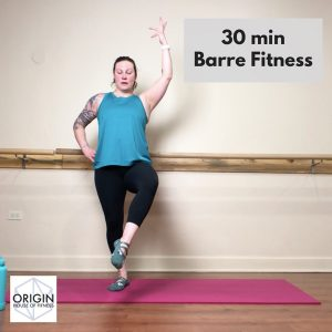 Nicole Adams Originhof 30-min Barre Fitness workout Video thumbnail