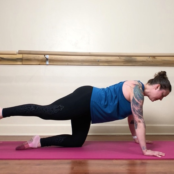 Nicole Adams 30-min Barre Fitness + Mat Pilates Fusion Video thumbnail