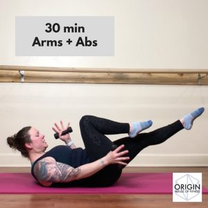 Nicole Adams 30-min Arms + Abs workout Video thumbnail