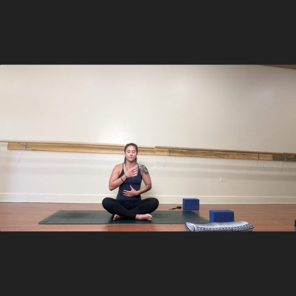 Paige LaBreche Gentle Yoga Heart Hips and Hamstrings at Origin fitness