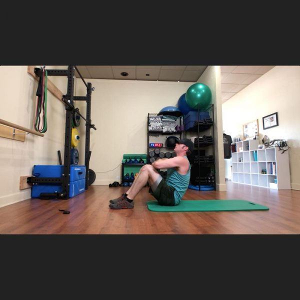30min Bootcamp bodywieght HIIT Origin Video situp screenshot