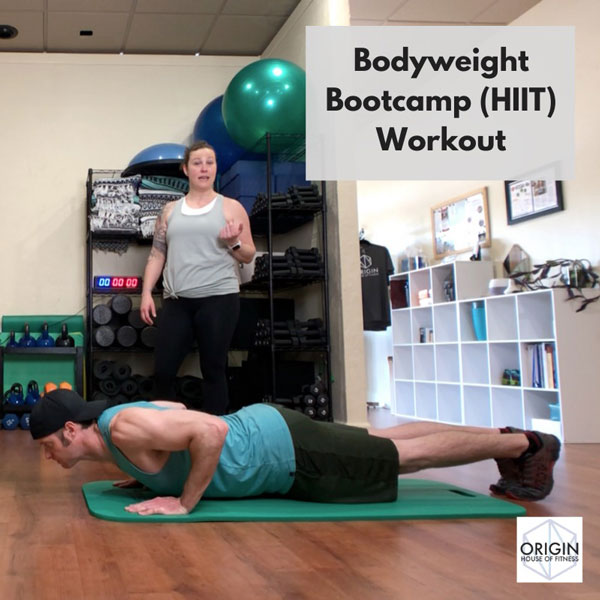 30min Bootcamp bodywieght HIIT Origin Video