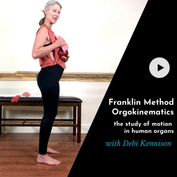 Franklin Method Orgokinematics; the study of motion in human organs with Debi Kennison