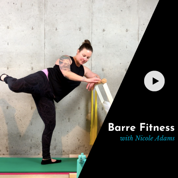 product picture for an online barre class