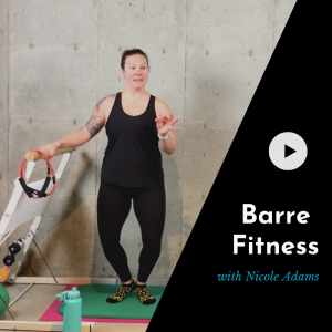 online barre fitness class product picture