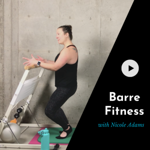 online barre class video product picture