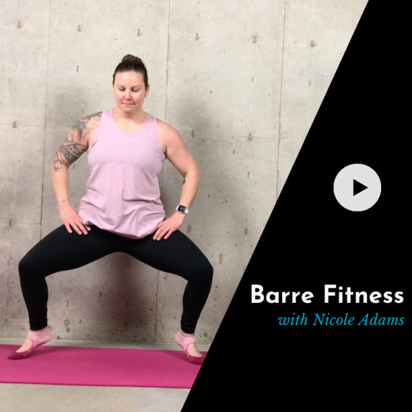 barre class product video